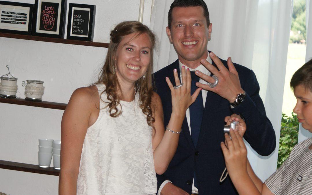 Bruiloft juf Ingrid en Edwin
